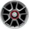 16-inch Cast Aluminum Wheels with Grey Pockets